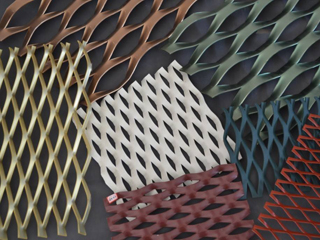 喷塑铝板网